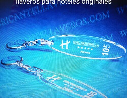TENEMOS LOS LLAVEROS PARA HOTELES MÁS ORGINALES Y EXCLUSIVOS AL MEJOR PRECIO